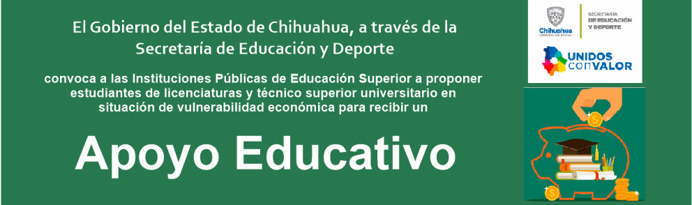 Convocatoria Apoyo Educativo 2019 - Gobierno del estado